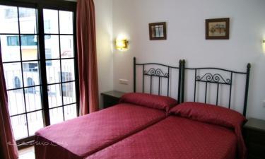 Hostal Palomares en Salobreña (Granada)