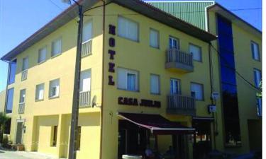 Hotel Casa Jurjo en Mazaricos a 8Km. de Olveiroa
