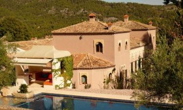 Hotel Rural Masía La Mota en Alcoy/Alcoi (Alicante)