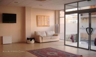 Hotel Santa Ana en Elda a 26Km. de Villena