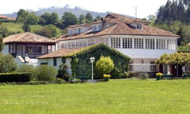 Hotel Casona de Amandi en Villaviciosa a 15Km. de Peón