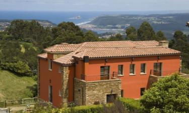 Monte Somao Hotel en Pravia a 4Km. de Muros de Nalón