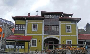 Hotel Arnicio en Campo de Caso (Asturias)