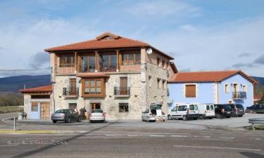 Hotel Rural El Balcón de Montija en Loma de Montija (Burgos)