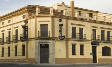 Hotel Julio en Trujillo a 32Km. de Salvatierra de Santiago