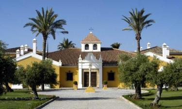 Hotel Monasterio de San Martín en Jimena de la Frontera a 24Km. de San Martín del Tesorillo