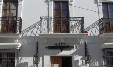 Hotel Jimena Real en Jimena de la Frontera a 24Km. de San Martín del Tesorillo