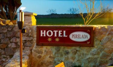 Hotel Perelada en Oreña a 3Km. de Santillana del Mar