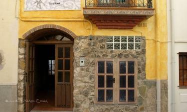 Hotel Can Joan en Rossell a 37Km. de La Galera