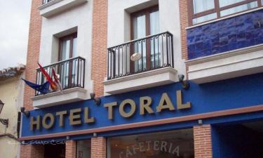 Hotel Toral en Santa Cruz de Mudela a 46Km. de Miranda del Rey