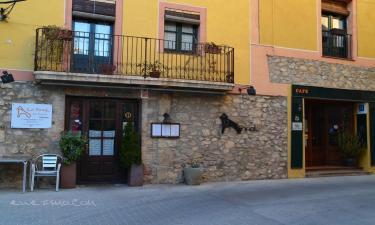 Hotel La Fornal Dels Ferrers en Terrades a 22Km. de Beuda