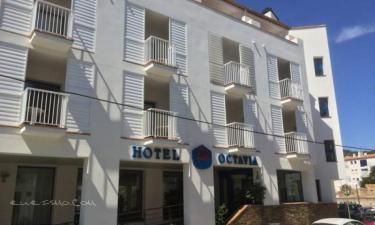 Hotel Octavia en Cadaqués a 28Km. de Vilajuïga