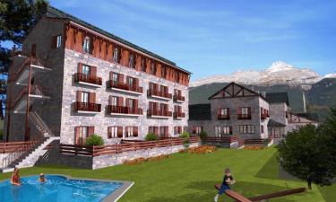 Apartotel Roca Nevada en Villanúa a 31Km. de Santa Cilia de Jaca