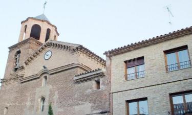 La Abadía de Castillazuelo en Castillazuelo (Huesca)