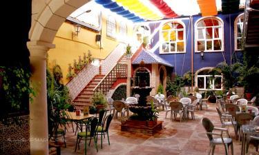 Hotel Plaza Manjon en Villanueva del Arzobispo a 21Km. de Chiclana de Segura