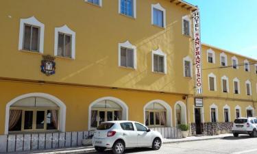 Hotel San Francisco en Pontones a 27Km. de Segura de la Sierra