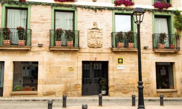 Hotel Duques de Najera en Nájera a 13Km. de Badarán