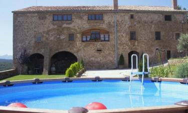 Casa Angrill en Montpolt a 29Km. de Els Hostalets