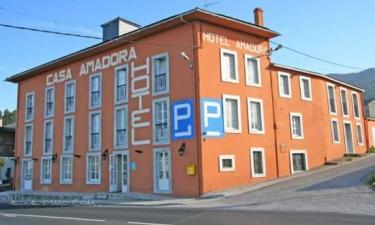 Hotel Casa Amadora en Barreiros a 30Km. de Mondoñedo
