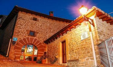 Hotel Nobles de Navarra en Aibar a 8Km. de Nardues-Aldunate