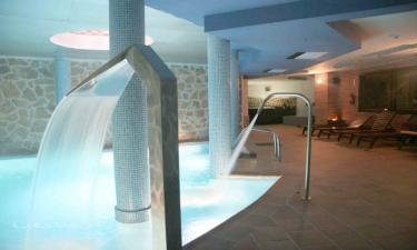 Hotel SPA Villa de Mogarraz en Mogarraz a 30Km. de Riomalo de Arriba