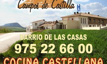 Hotel Campos de Castilla en Soria a 36Km. de Nieva de Calderuela