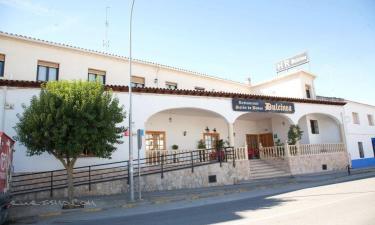 Hotel restaurante Dulcinea de El Toboso en El Toboso a 33Km. de Pineda de Cigüela