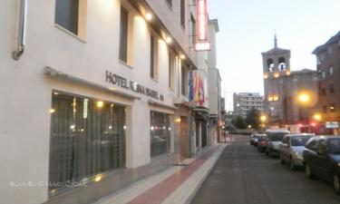 Hotel Reina Isabel en Medina del Campo (Valladolid)