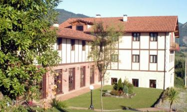 Hotel Restaurante Ibaigune en Murueta (Vizcaya)