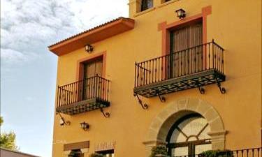 Hotel El Portegao en Leciñena a 32Km. de Villanueva de Gállego