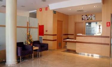Hotel Salvevir en Ejea de los Caballeros a 42Km. de Valpalmas