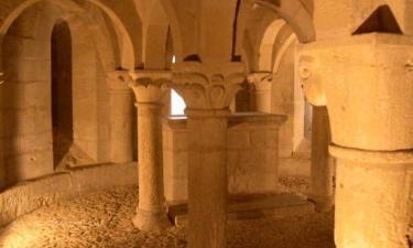 Cripta Romanica de San Martín de Unx