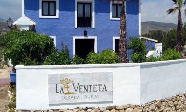 Posada Rural La Venteta en Aigües (Alicante)