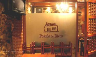 Posada de Bleto en Ledesma a 23Km. de Santiz