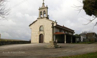 Mesón do Vento:  La iglesia