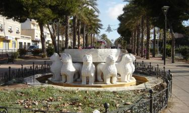 Vícar:  Vícar - replica of Alhambra Lions fountain © Robert Bovington