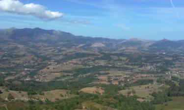 Montes de Sebares: