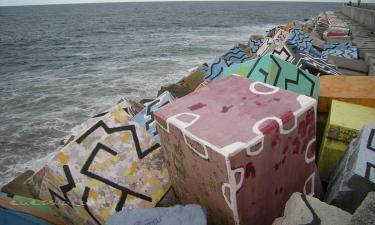 Llanes:  Cubos de la memoria