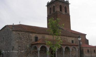 Pajares de Adaja:  Iglesia Parroquial de Pajares de Adaja
