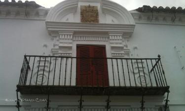 Siruela:  Palacio de los condes de Fernán Núñez