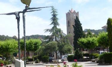 Vallromanes:  PLAZA DE LA IGLESIA