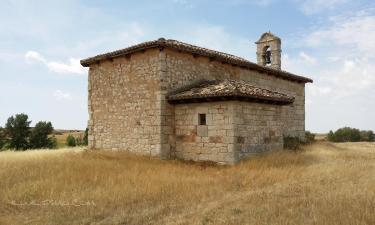 """Villusto:  La ermita """"el Santo Cristo de las Eras """" de Villusto"""