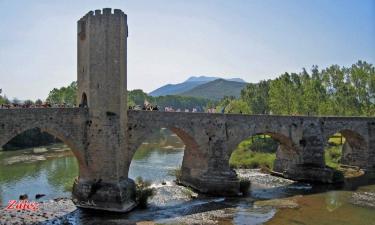 Frías:  Puente Medieval sobre el Ebro