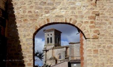 Pampliega:  Pampliega, Puerta del Mercado en la Muralla.