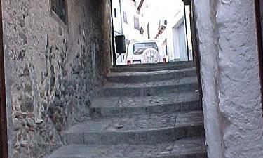Hervás:  Barrio judío de la localidad de Hervás