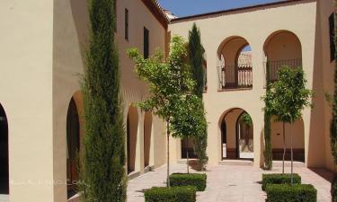 Palma del Río:  Patio del Convento de Santa Clara