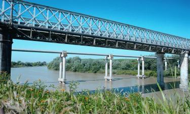 Palma del Río:  Puente de Hierro sobre el Guadalquivir