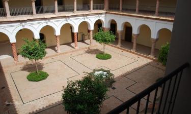 Palma del Río:  Claustro del convento de Santa Clara