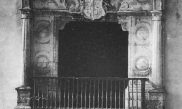 Palma del Río:  Balcón del Palacio de Portocarrero
