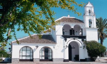 Palma del Río:  Fachada de la Ermita de la Virgen de belén